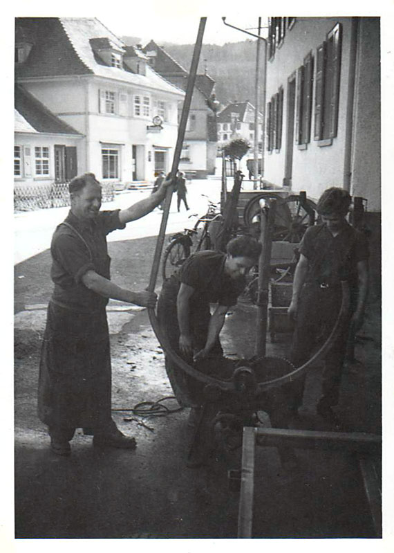 Speichenräder Herstellung