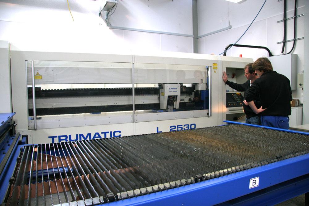 Laser schneiden Tisch
