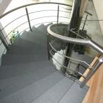 Abgang Mittelholm Treppe