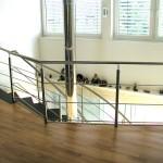 Podest Mittelholm Treppe