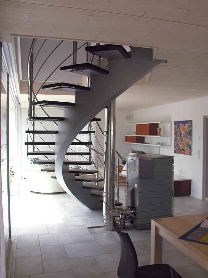 Rückseite Mittelholm Treppe