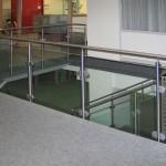 Treppengeländer in der Helios Klinik