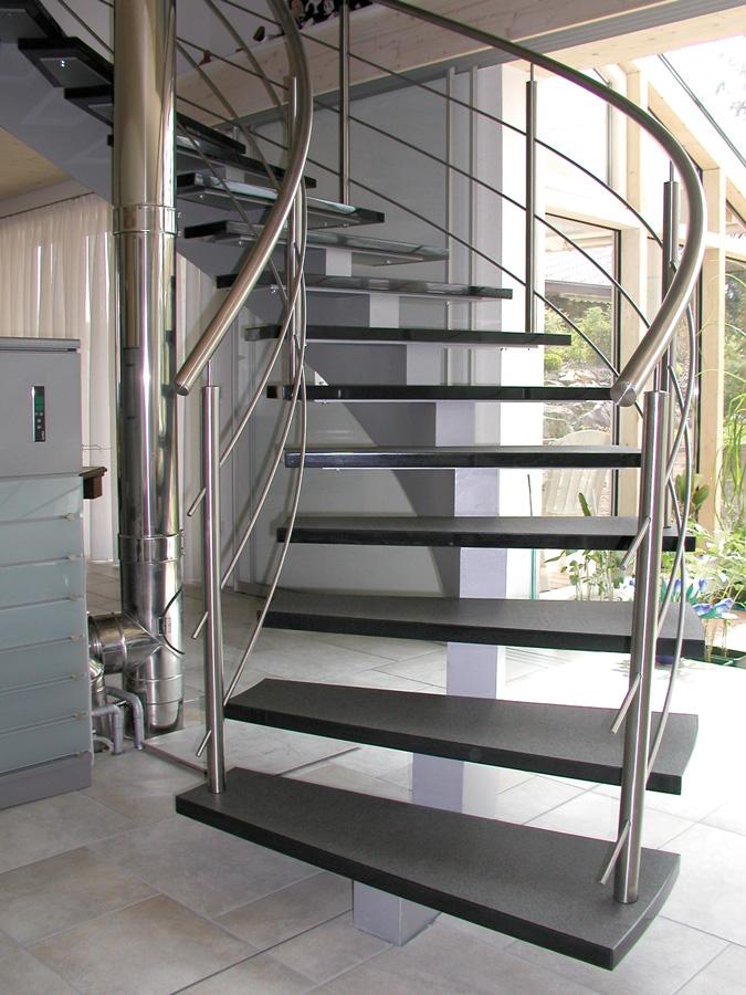 Aufgang Mittelholm Treppe