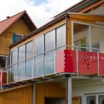 Balkon für Wohnraumerweiterung